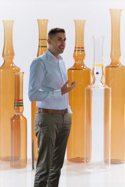 Manuel Schindele Pharma-Glas CEO